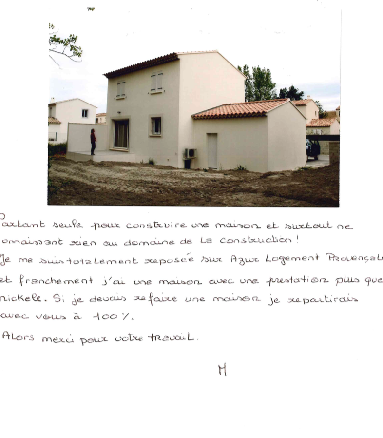 Villa de 100M2 à Eyguières