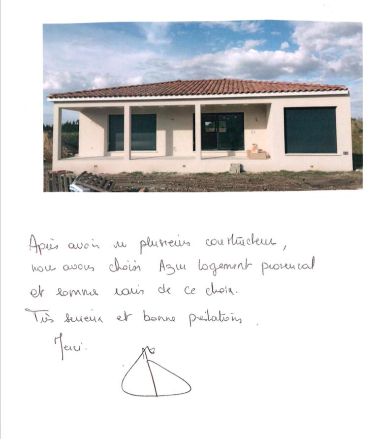 Villa contemporaine à Lançon de Provence