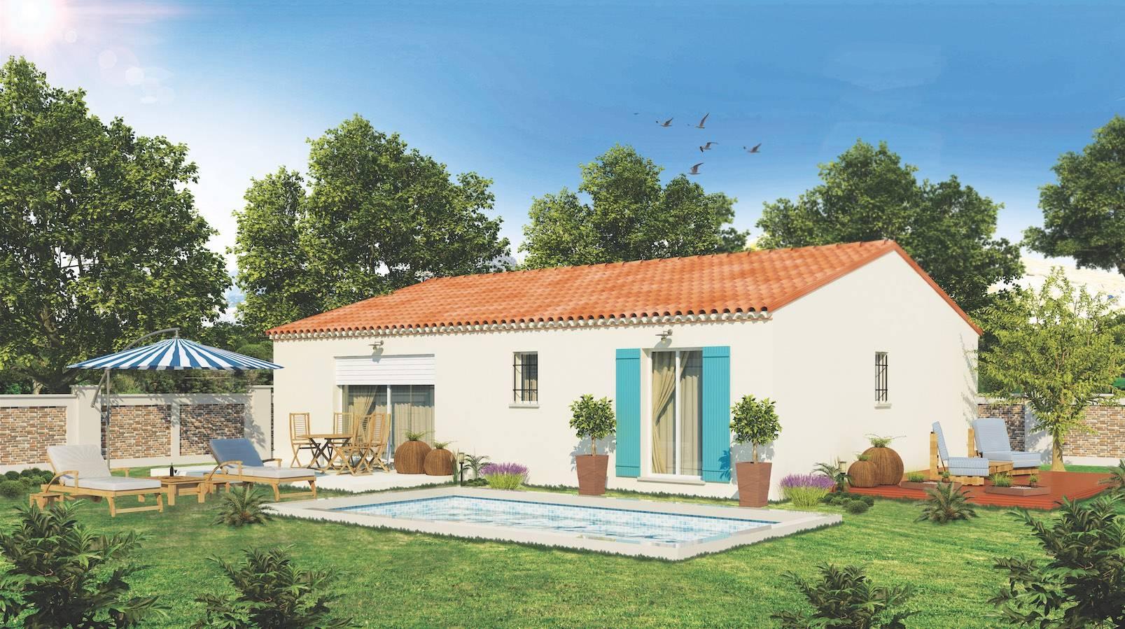 Constructeur De Maison Moderne Avec Toit Plat Salon De Provence Azur Logement Provencal