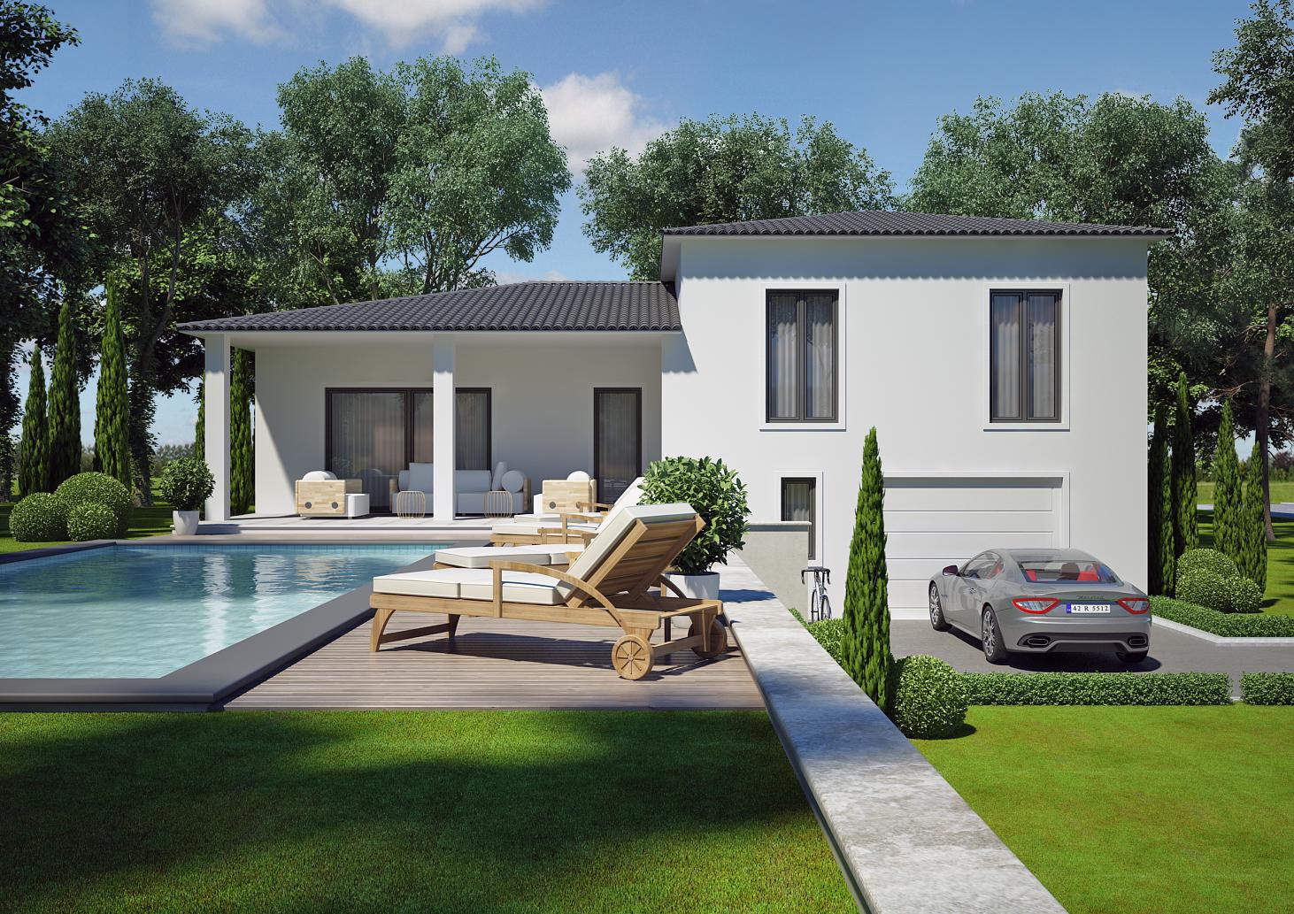 Modèles De Villa Contemporaine Plus De 150m Vaucluse 84