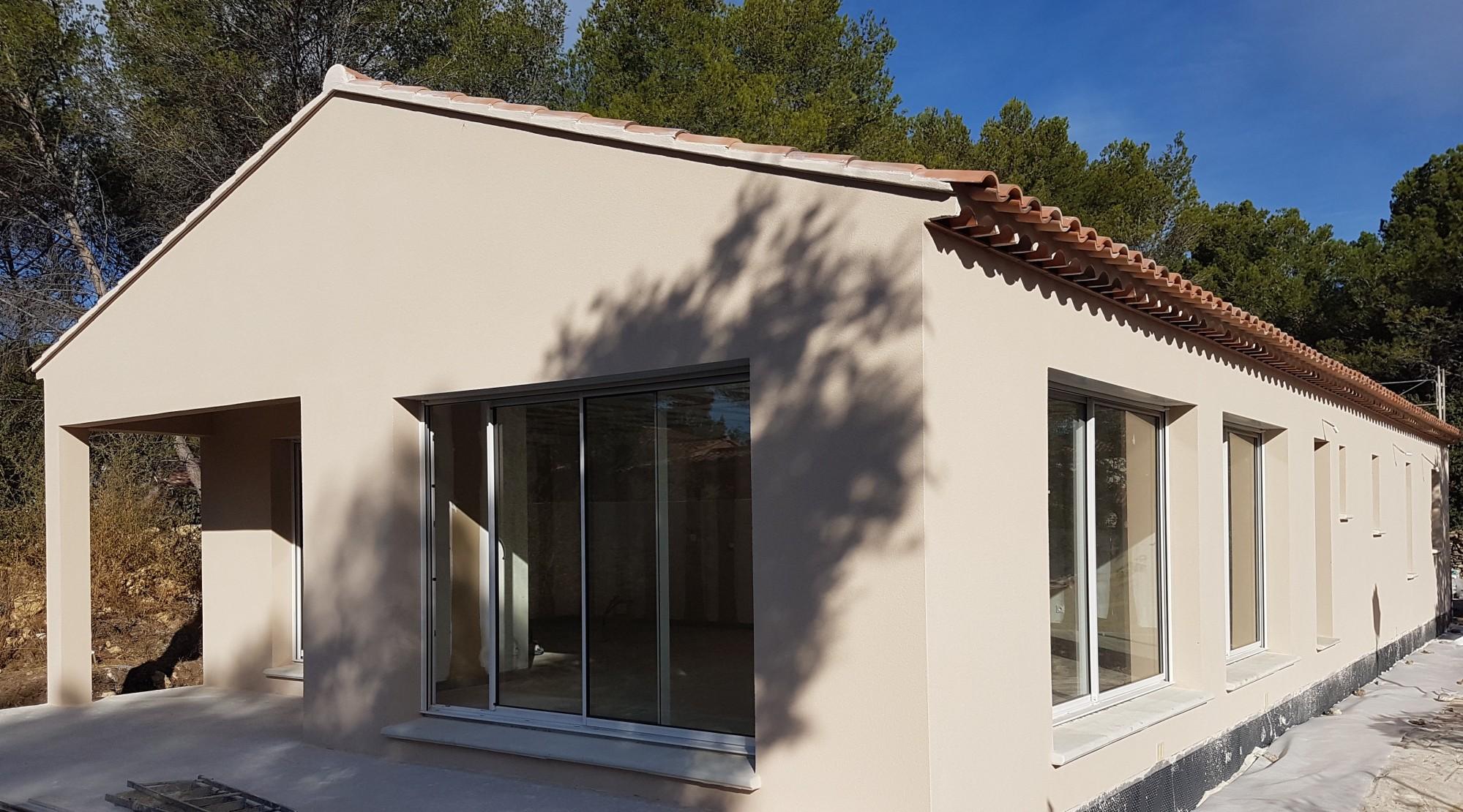 R alisations villas individuelles salon de provence et for Garage api salon de provence