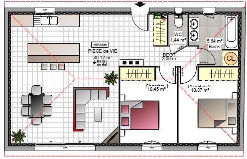 Votre Villa T3 De Plain Pied De 70m2 Avec Terrain De 300m2 A Salon De Provence Azur Logement Provencal
