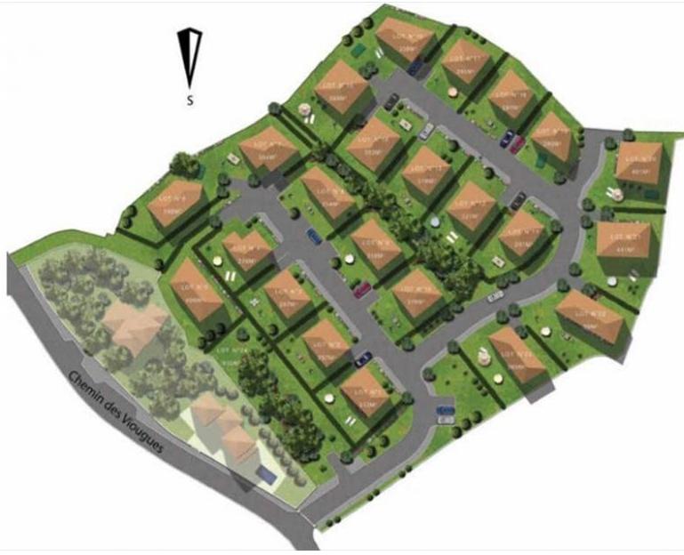 Terrains constructibles dans nouveau lotissement 13300 for Presto pizza salon de provence
