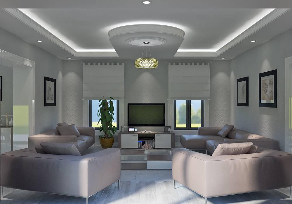 Villa contemporaine 115M2 Etage - Modèle IRIS - Salon de ...