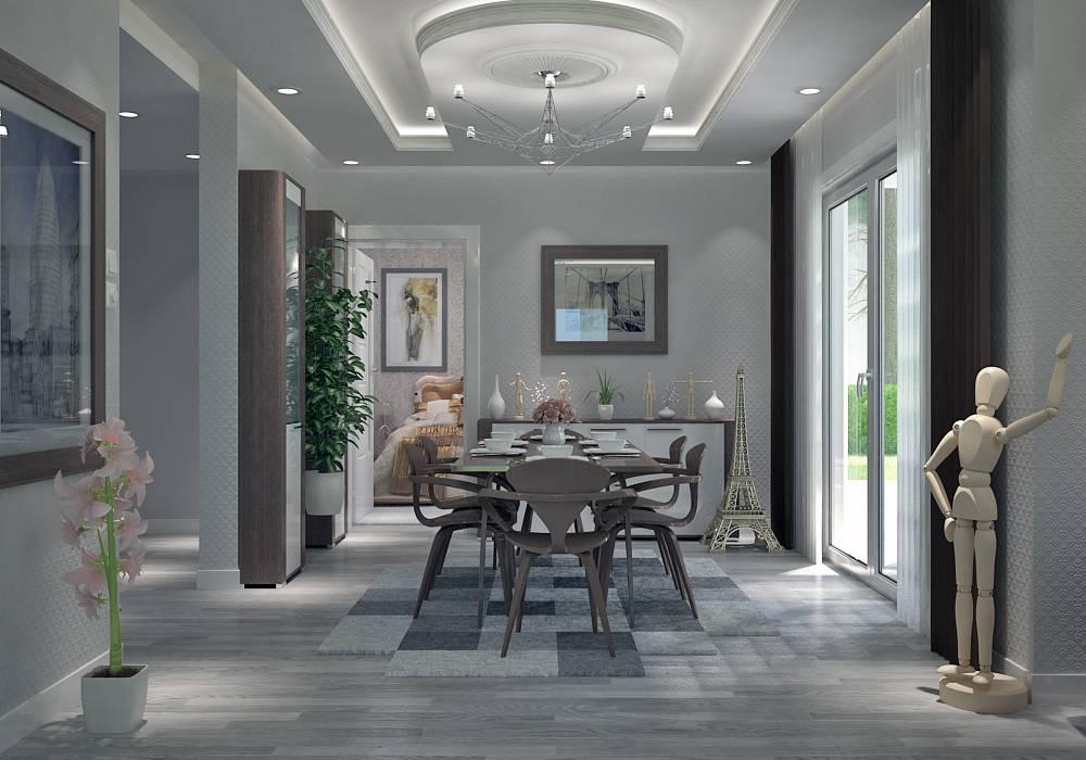 Villa contemporaine 130M2 Etage - Modèle LAVANDE - Salon de ...