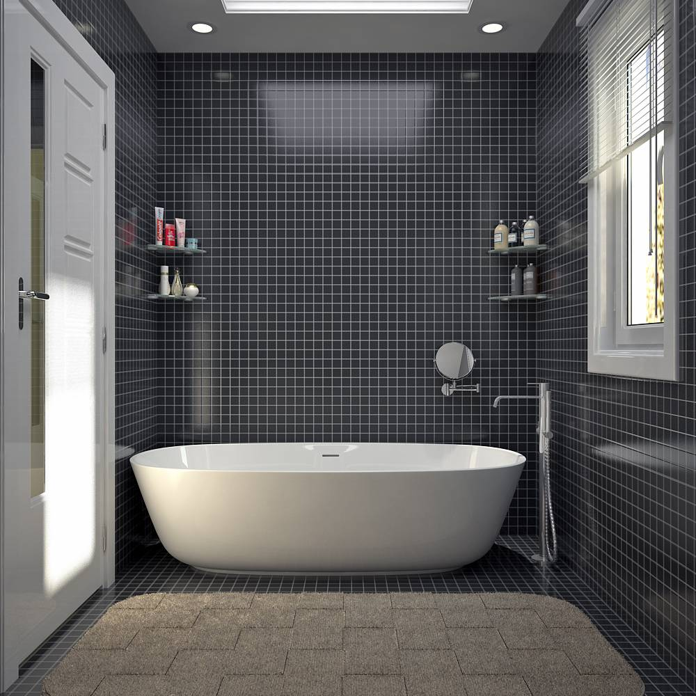Villa contemporaine 130m2 etage mod le lavande salon for Agencement salle de bain 6m2