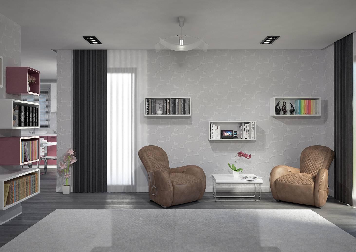 Villa contemporaine 125m2 etage mod le magnolia salon for Villa prisme salon de provence