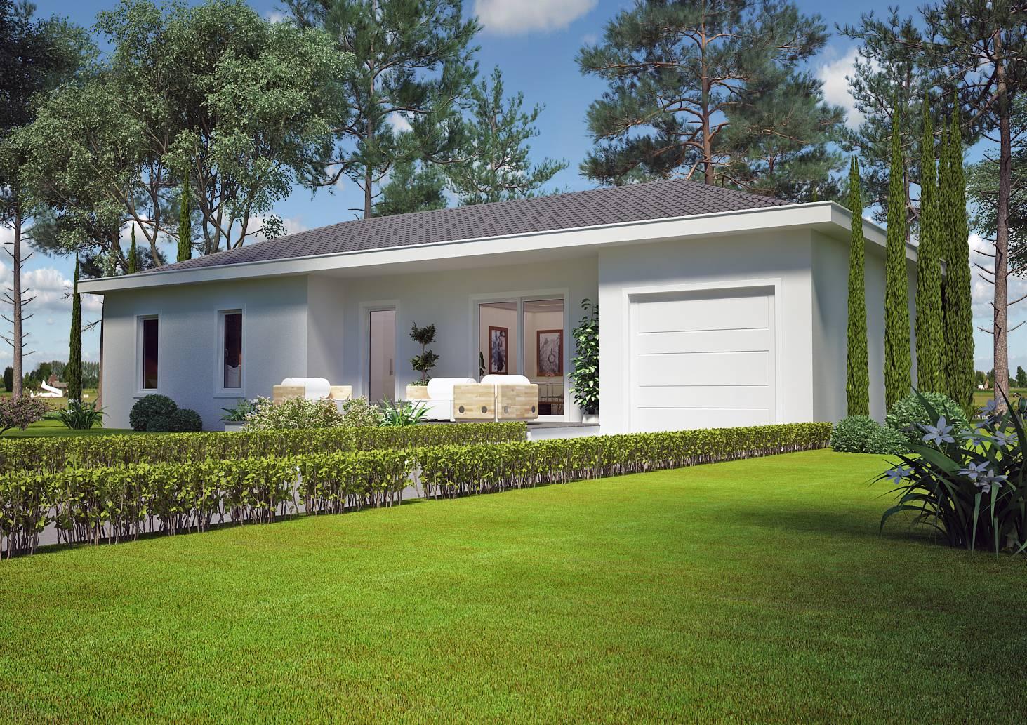 Villa Contemporaine 80 M2 Plain Pied Azur Logement Provencal