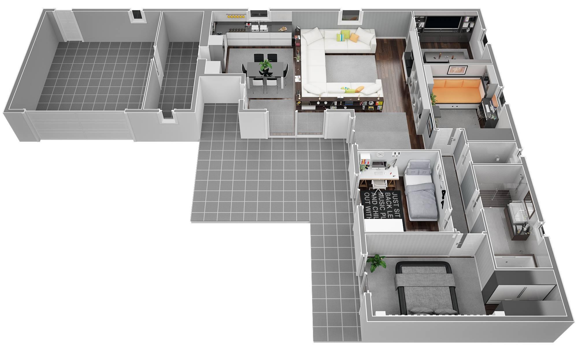 Plan De Construction D Une Maison 110m2 | Ventana Blog