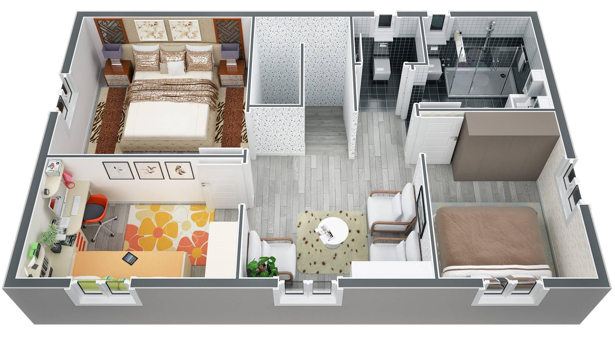 Modele Villa Traditionnelle 100m2 A Etage Realisable Dans Le Luberon Azur Logement Provencal