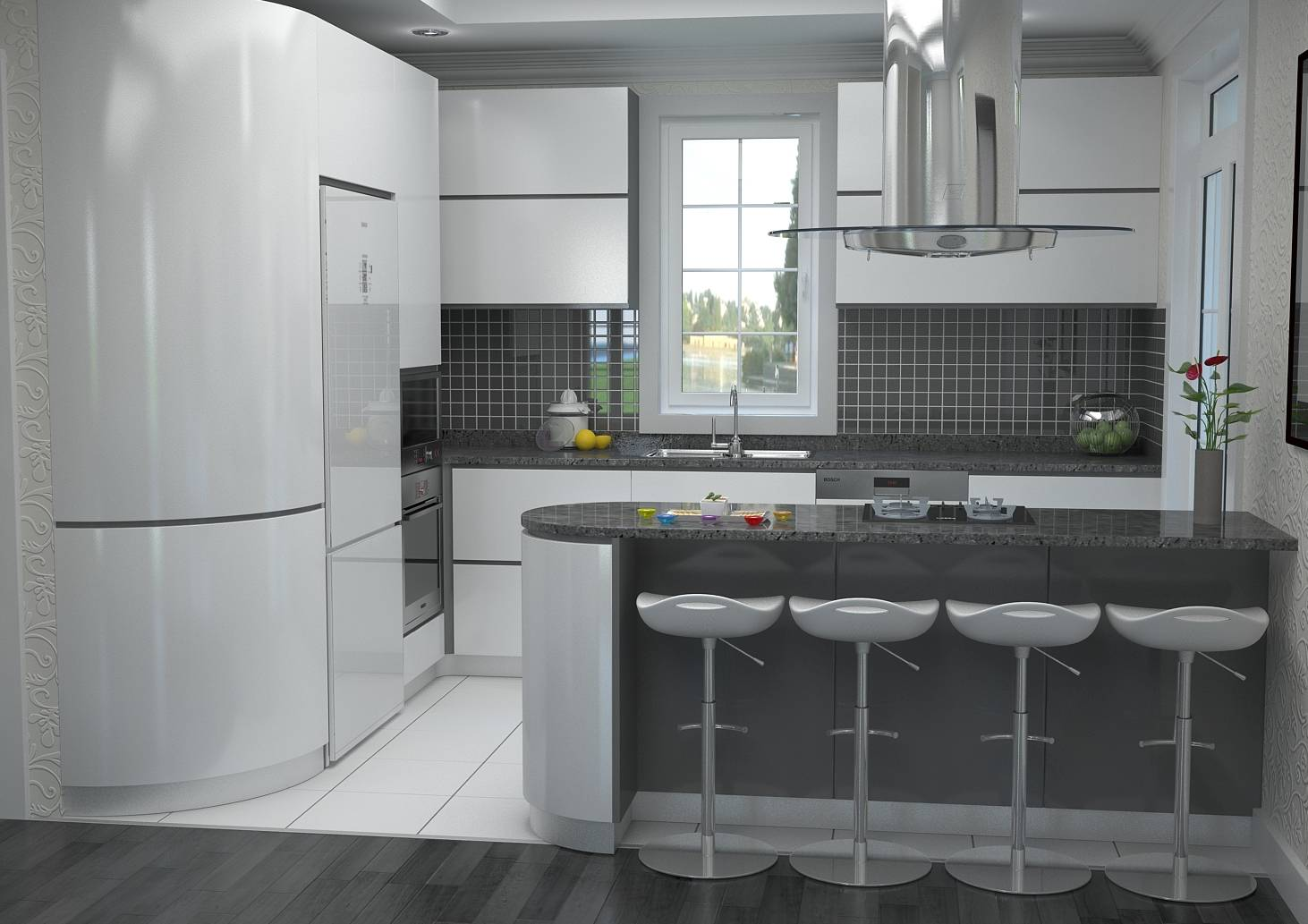 Mod le villa traditionnelle 100m2 tage r alisable dans for Idee de plan de cuisine amenagee