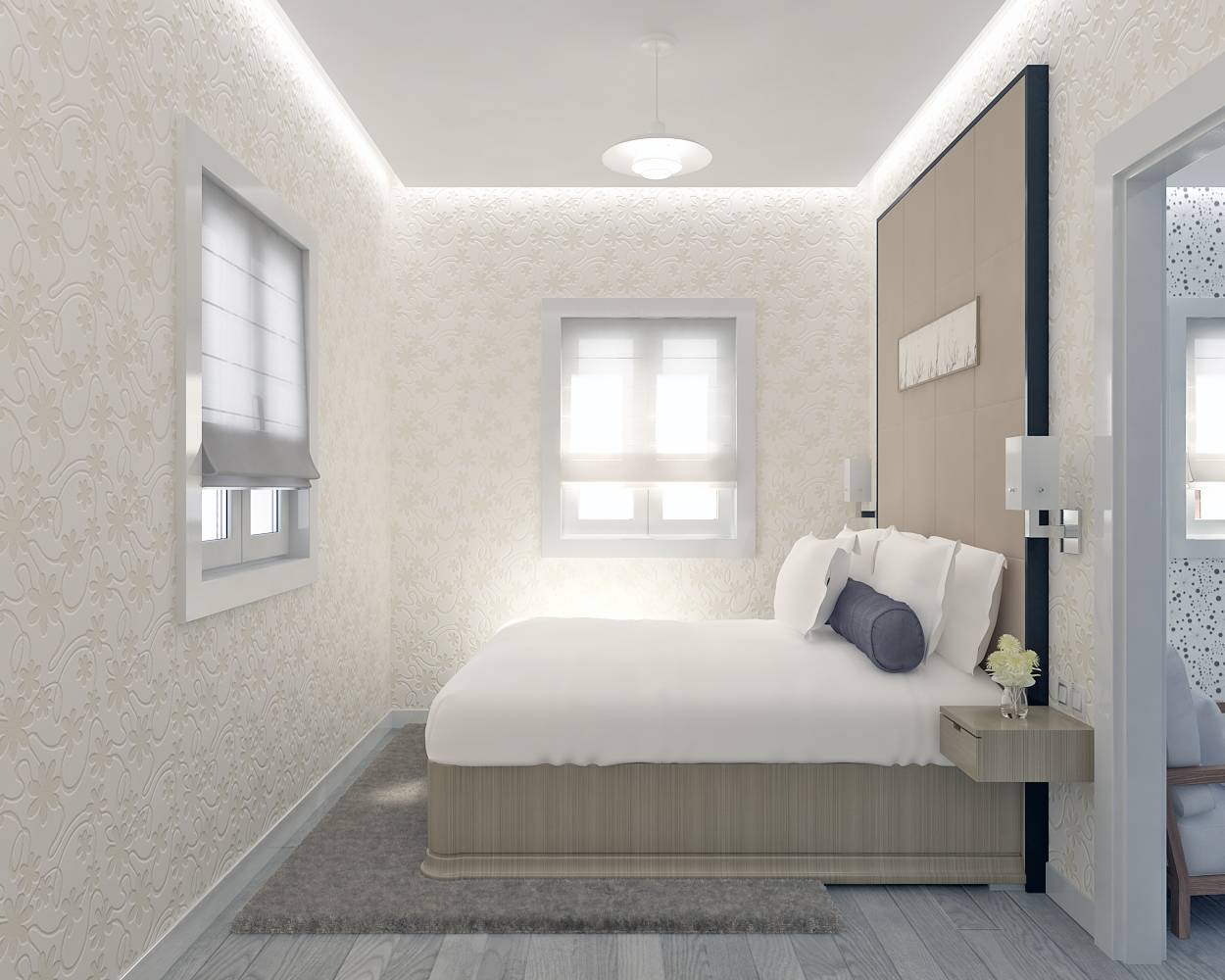 Mod le villa traditionnelle 100m2 tage r alisable dans for Amenagement chambre 10m2 pour 2