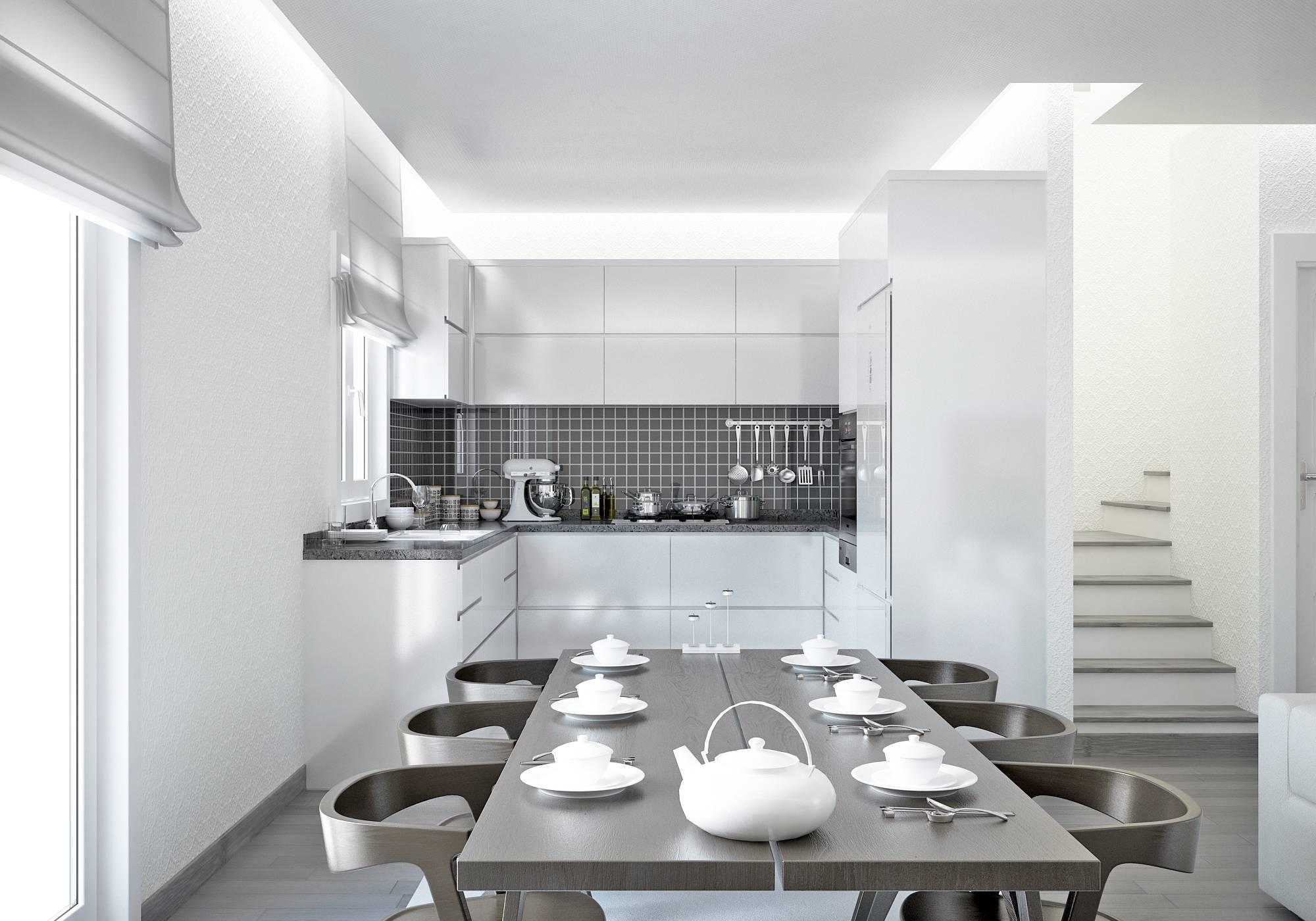 Villas cypr s 90m2 contruire dans la r gion paca mod les for Cuisine 11m2