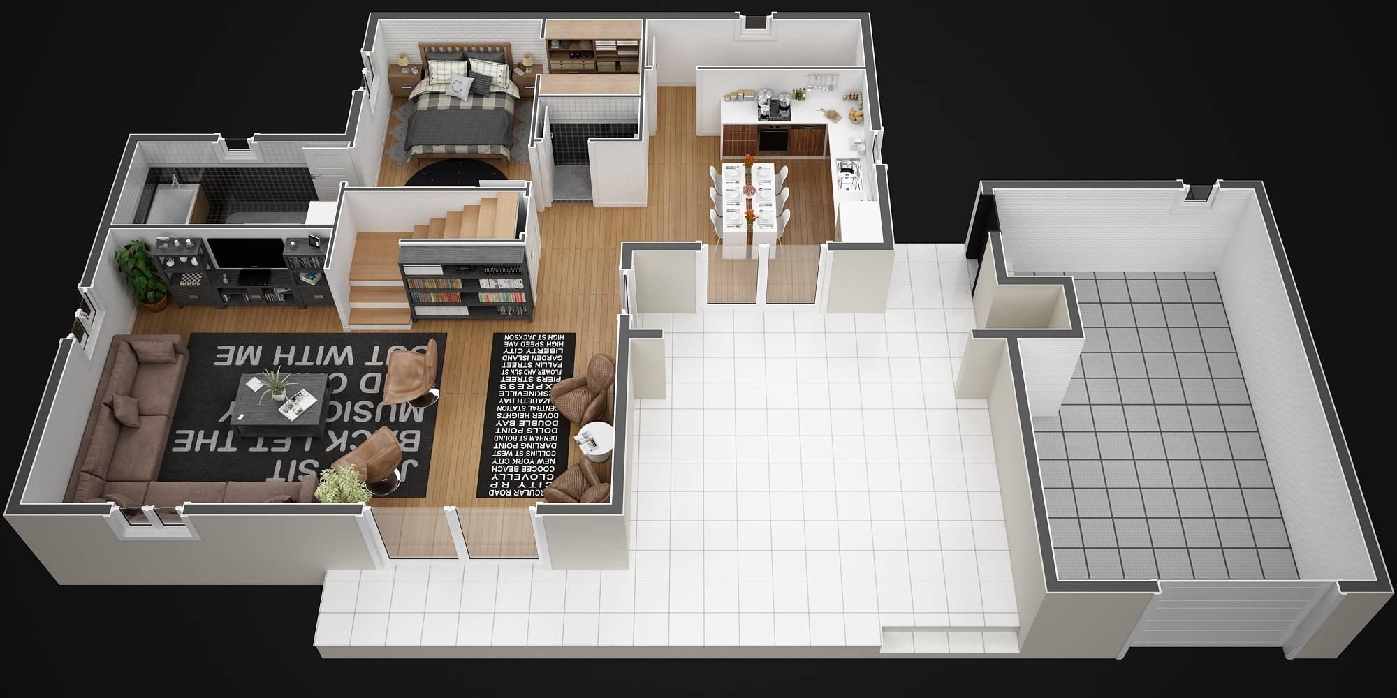 Fantastique Modèle de villa à étage 120M2 type traditionnel - Magnolia - Azur YJ-57