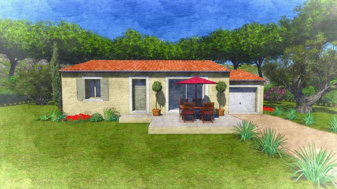 Villa Sur Plan Modle Amaryllis M Construire Dans Les
