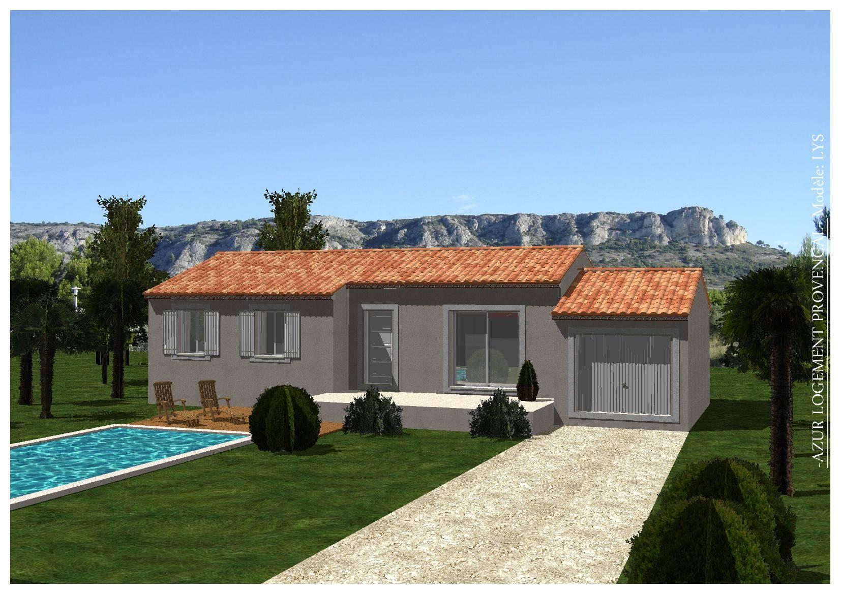 Terrain 445m2 la bastide des jourdans azur logement for Constructeur bastide