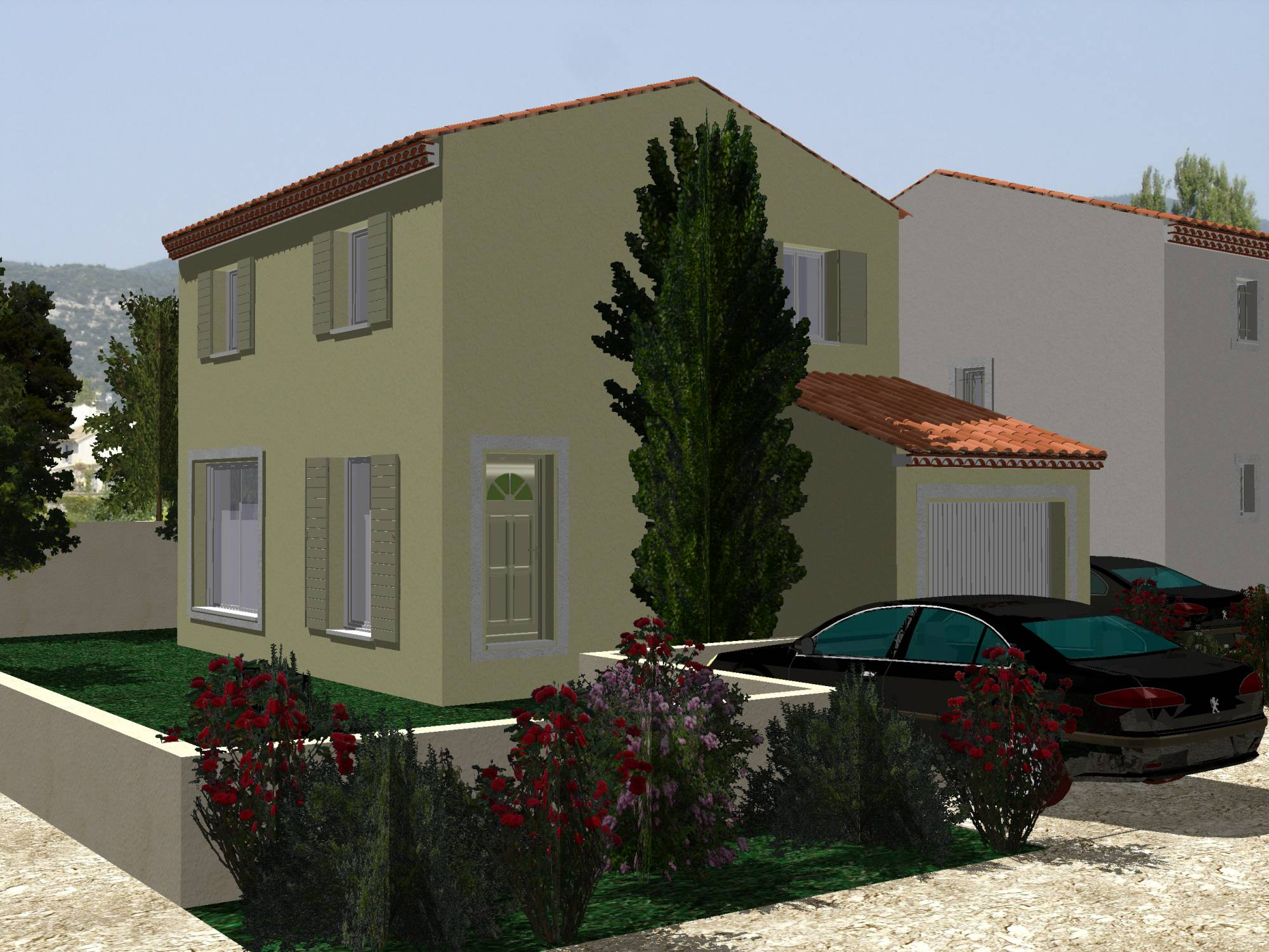 Terrain et maison a construire topic visuel magnifique for Maison terrain a construire