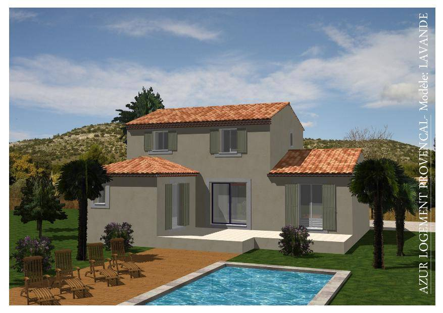 Terrain constructible vendre 400m2 13300 salon de for Maison d en france salon de provence