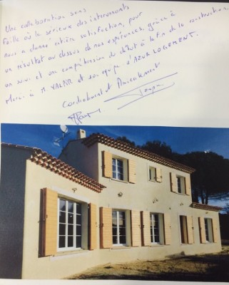 Avis construction villa traditionnelle Azur Logement Provencal