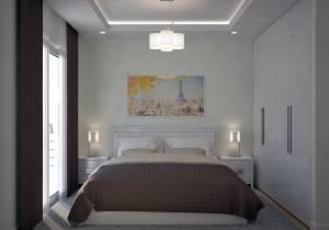 Chambre Plan Contemporain  Lavande