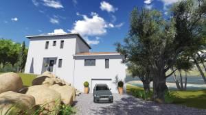 Maison Moderne 140m2 azur logement provencal 13300