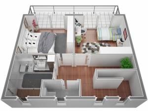 Maison moderne avec piscine a salon de provence par Azur Logement Provencal