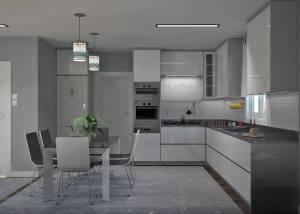 Cuisine pour une maison moderne à Salon de Provence 13300 BdR