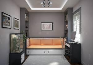 chambre 10m2 plan d'une maison contemporaine dans les BdR