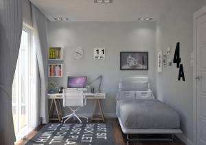 Chambre enfant pour maison contemporaine construction à Salon de Provence 13300