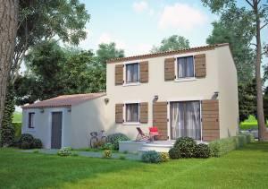 Villas Cyprés 90m2 à contruire dans la région PACA