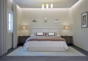 Villa Cyprés vue Chambre 1 étage par Azur Logement Provencal