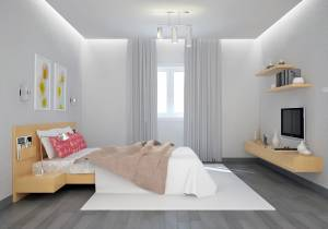 Chambre 2 étage villa cyprés Azur Logement Provencal