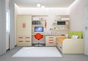 Chambre enfant 11m2 villa cyprés