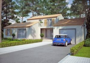 Modèle de villa à étage 120M2 type traditionnel - Magnolia