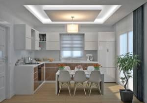 Vue cuisine Villa Traditionnelle Magnolia 120m2 Azur Logement Provencal