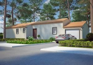 Villa JASMIN par AZUR LOGEMENT PROVENCAL vue exterieure