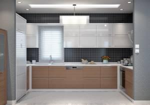 Vue cuisine Villa Traditionnelle JASMIN 100m2 Azur Logement Provencal