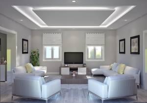 Vue sur Salon Villa IRIS par Azur Logement Provencal