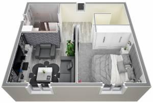 Vue étage Traditionnelle IRIS 115m2 par AZUR LOGEMENT PROVENCAL