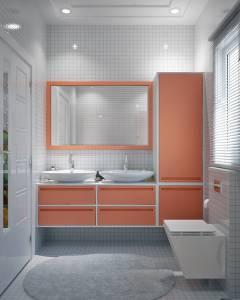 Salle de bain plan villa IRIS