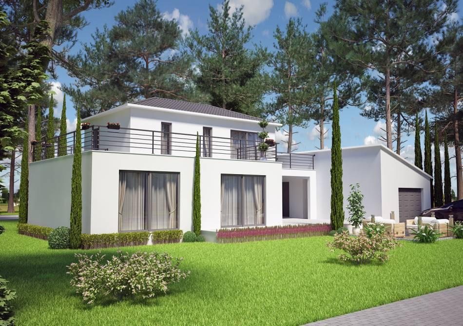 Constructeur de maisons et villas salon aix azur for Site constructeur