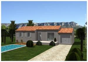 Plan Maison 100 M Pour Construction Salon De Provence 13300