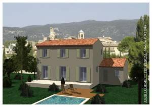 Construction de maison individuelle vaucluse 84 azur for Constructeur maison individuelle vaucluse